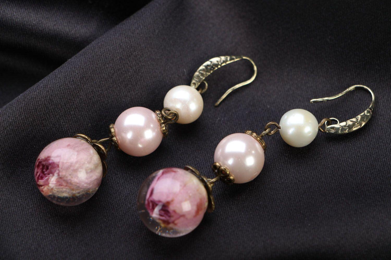 Floral earrings  photo 1