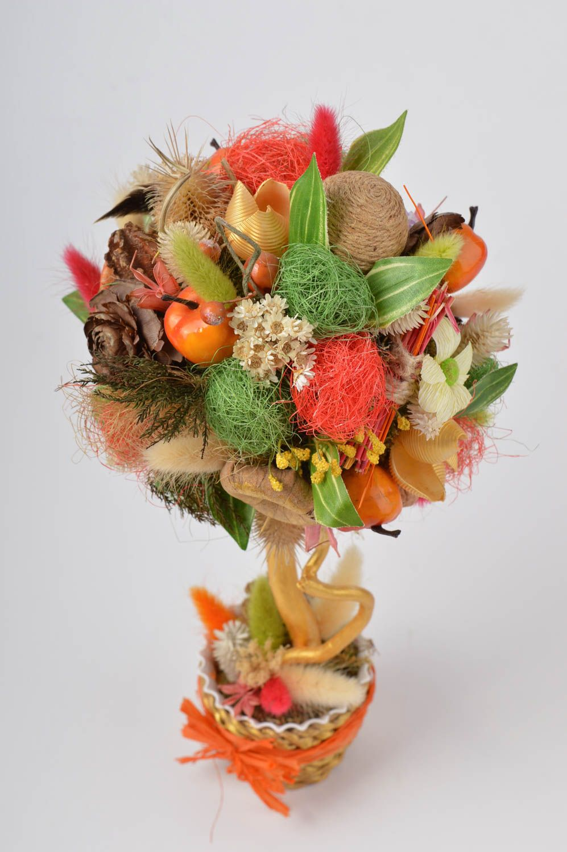 Stylish topiary handmade tree table decor housewarming gift decorative use only photo 4