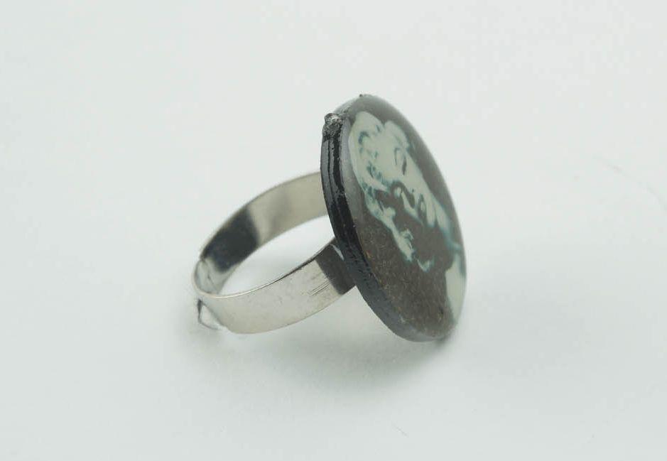 Кольцо ручной работы фото 3