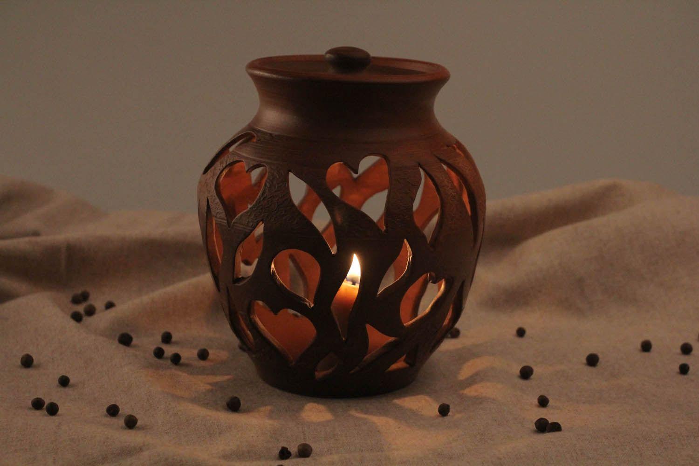 Clay aroma lamp photo 1