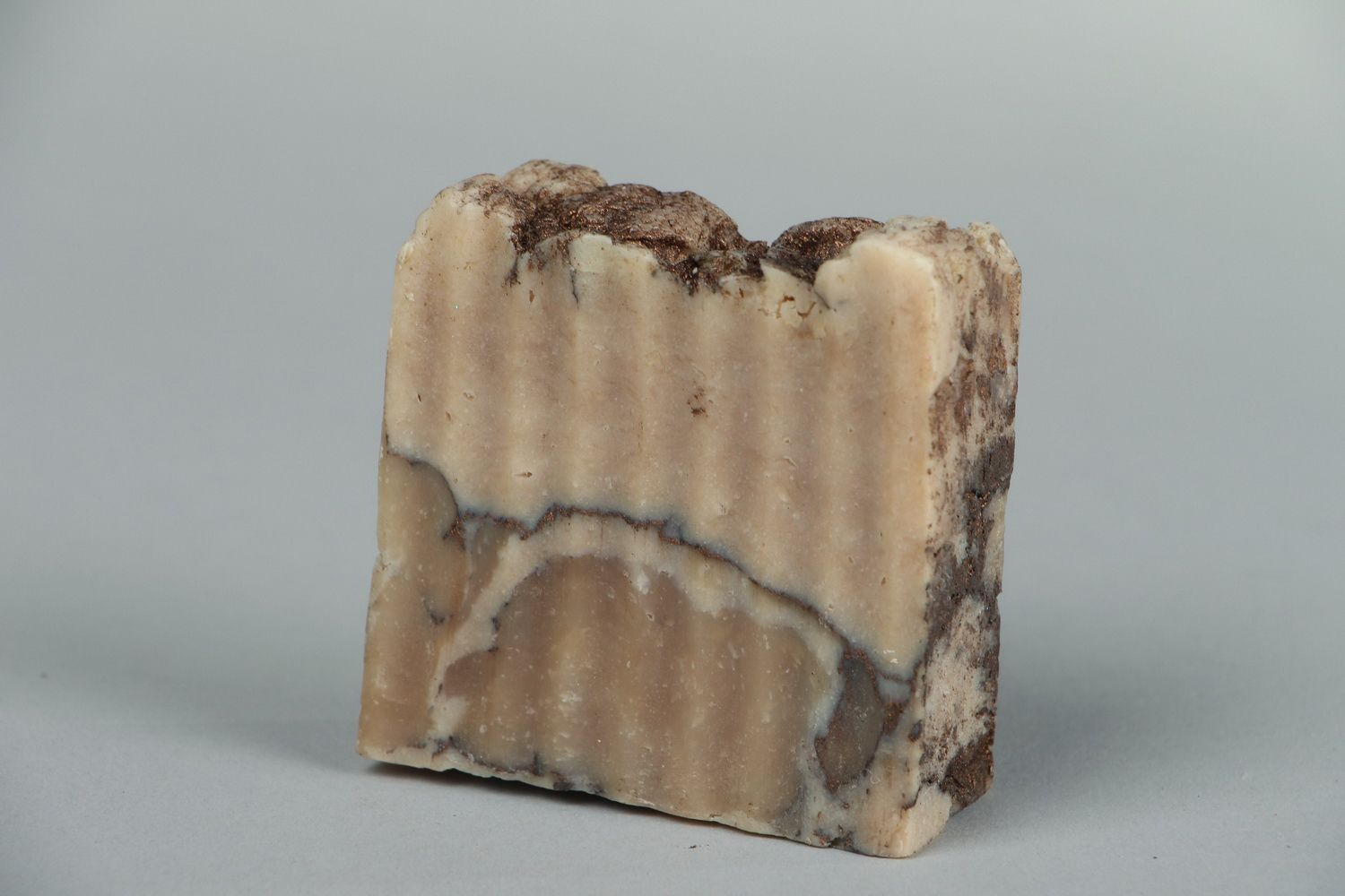 Handmade soap with almond oil photo 1