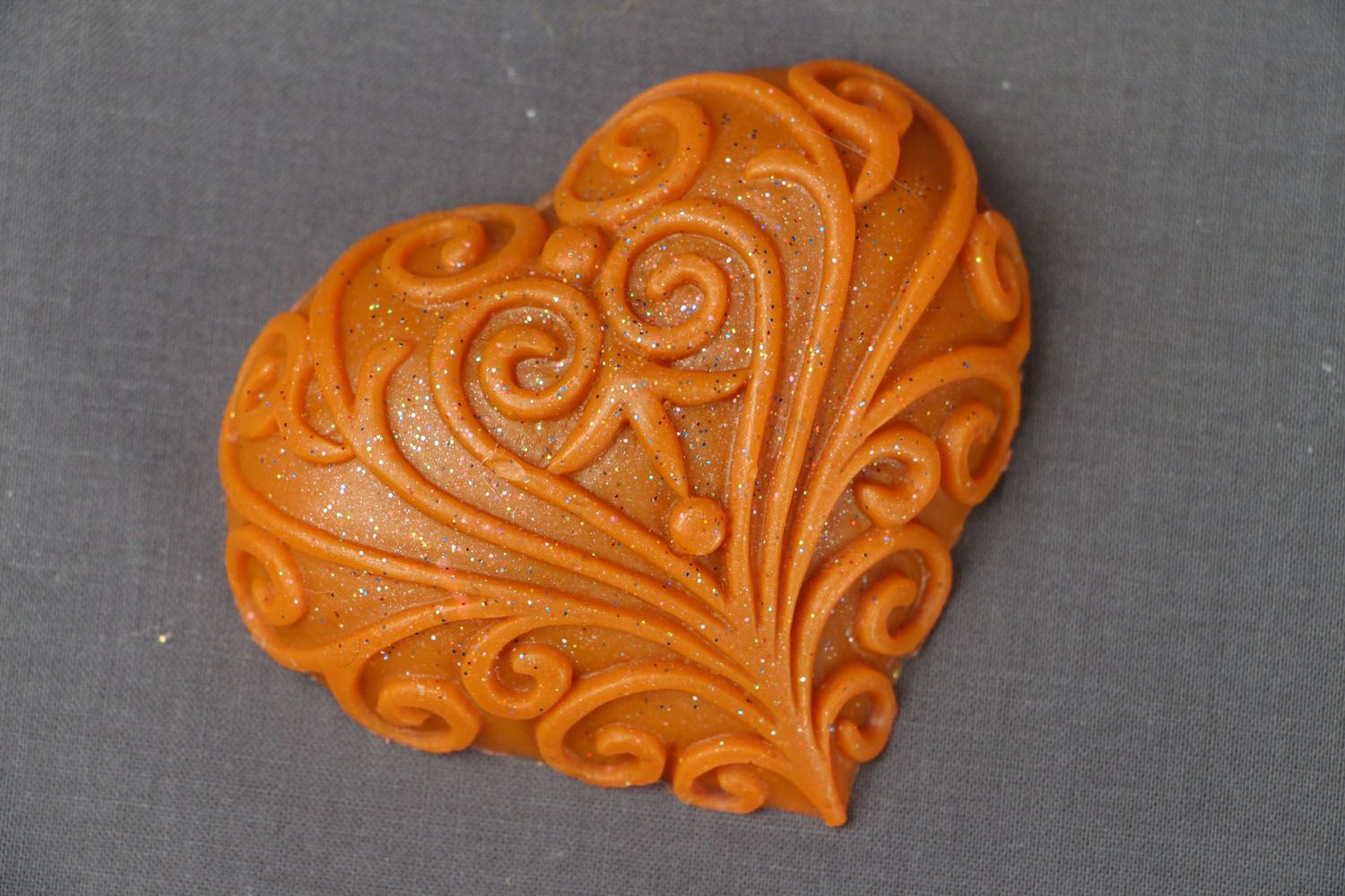 Natural soap Lacy Heart photo 1