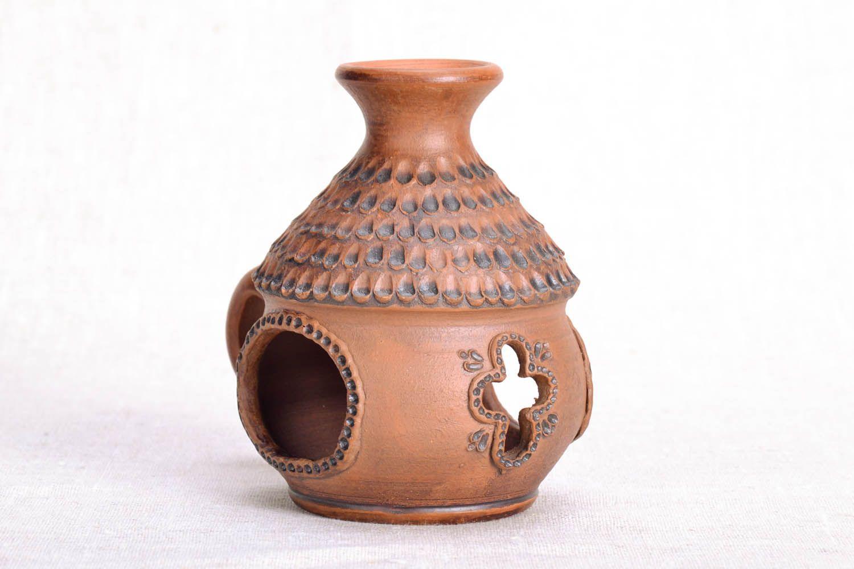 Ceramic handmade aroma lamp photo 4