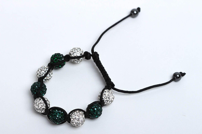 Handmade jewelry designer bracelet beaded bracelet fashion accessories gift idea photo 1