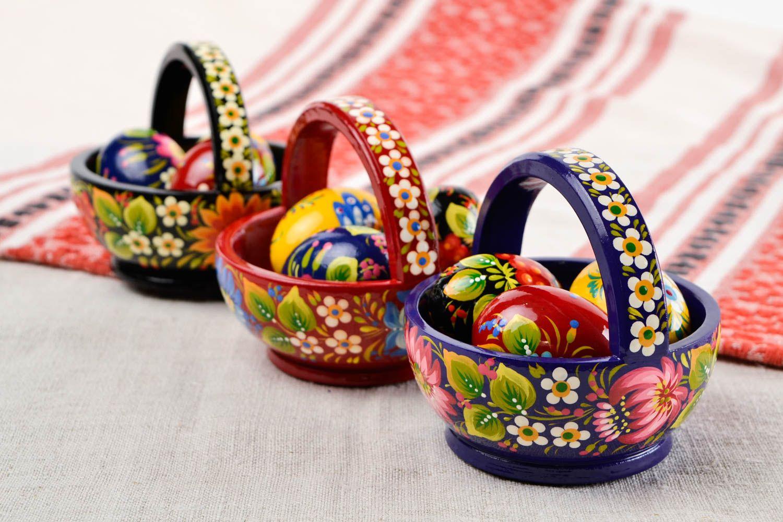 Madeheart canastas de pascua artesanales regalos for Regalos originales decoracion