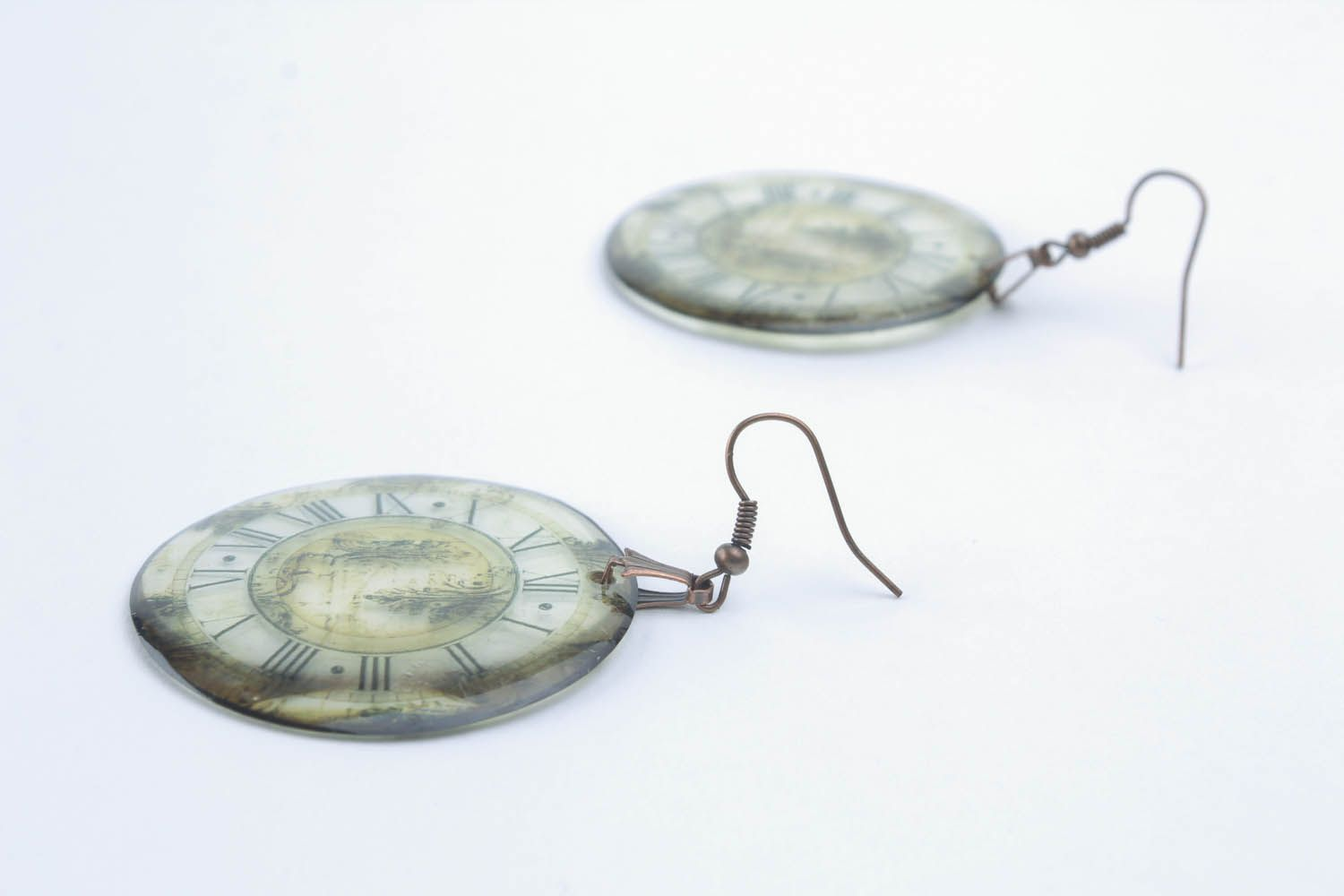 Epoxy earrings  photo 2
