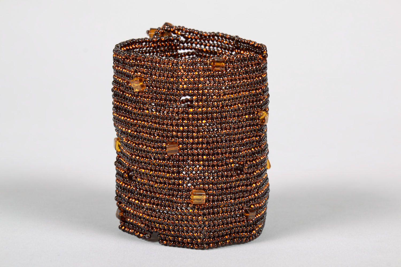 Beaded wrist bracelet photo 2