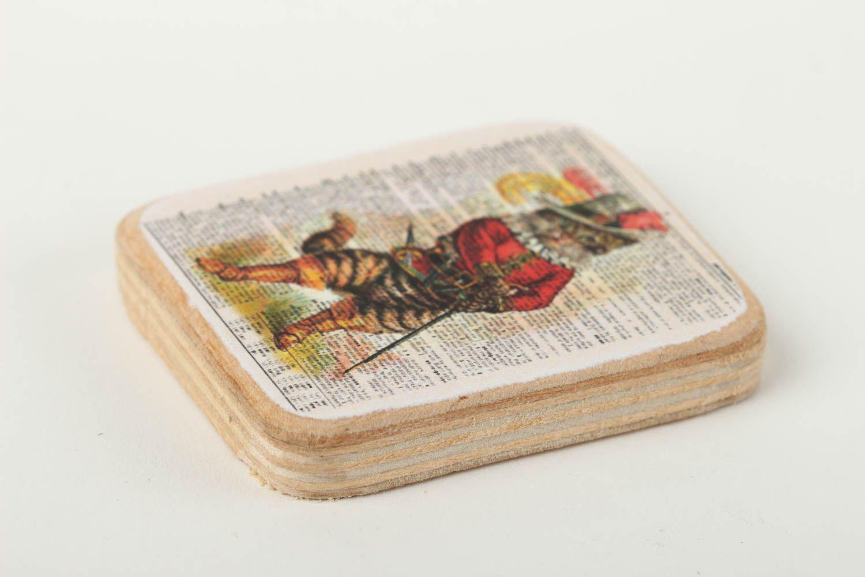 Wood fridge magnet handmade home decor souvenir ideas for decorative use only photo 2