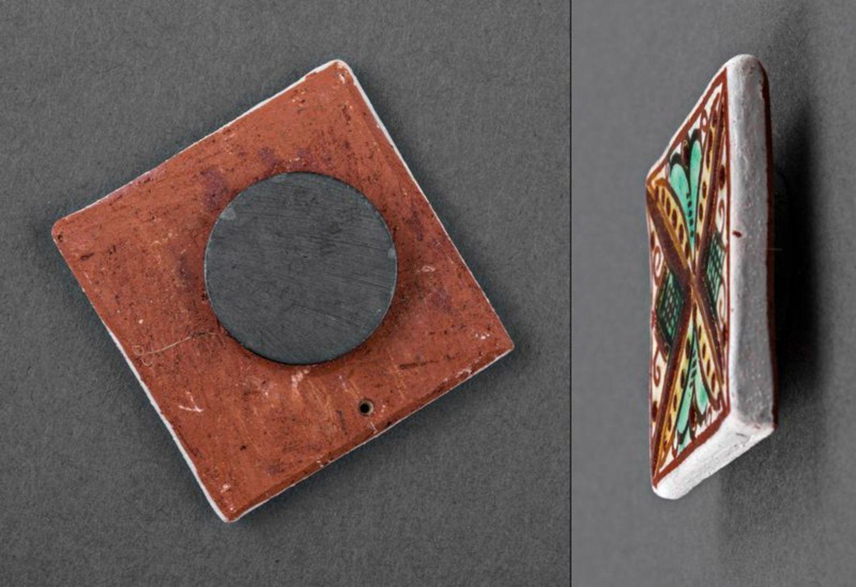 Ceramic handmade fridge magnet photo 3