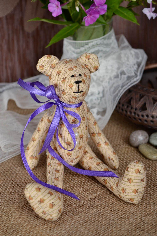 MADEHEART > Handgemachtes braunes kleines Kuscheltier Bär Geschenke ...