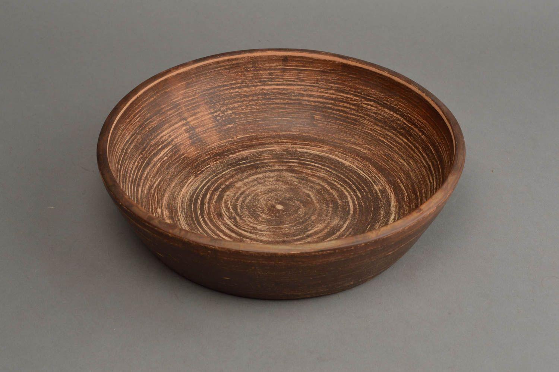 Madeheart plato de cer mica artesanal vajilla moderna for Vajilla ceramica