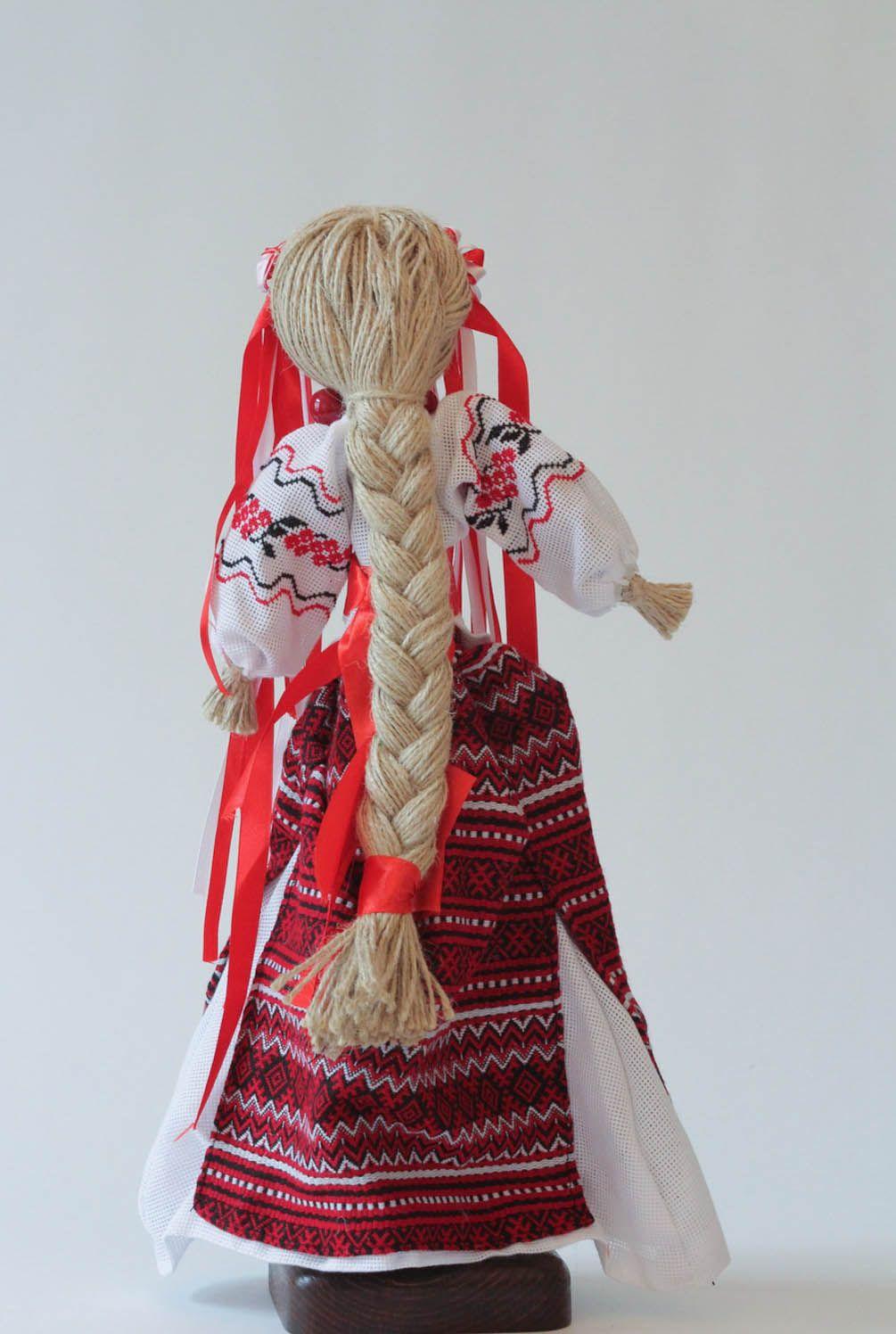 Handmade doll motanka Bereginya photo 2