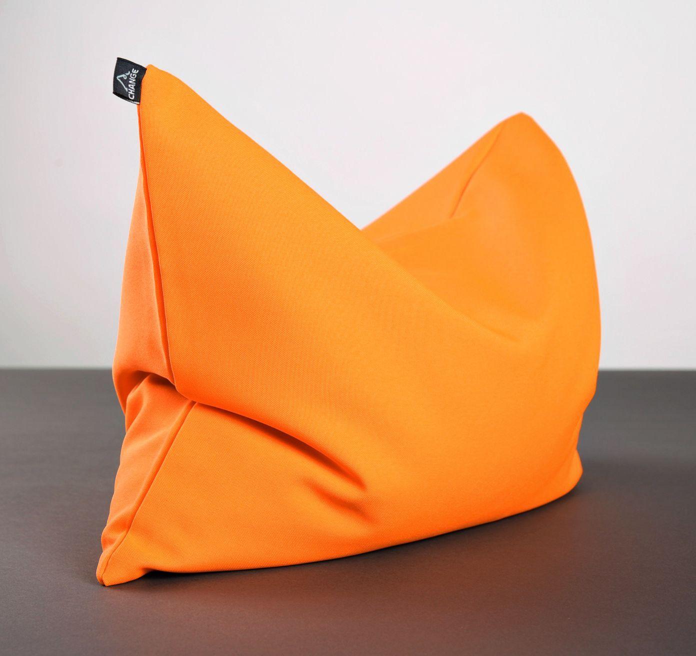 Yoga pillow with buckwheat husk photo 5