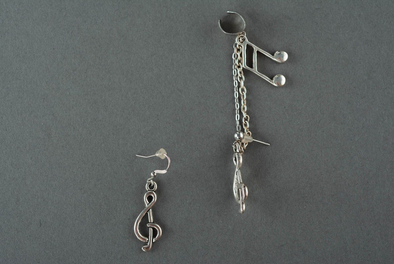 Metal cuff earrings Sonata photo 2