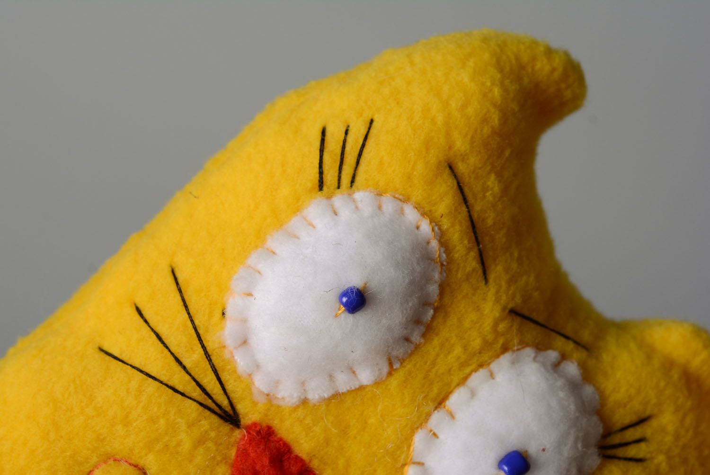 Soft toy Yellow Cat photo 2