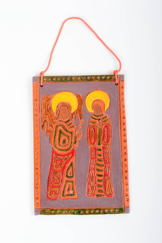сeramic Handmade ceramic wall panel pottery works clay craft wall hanging gift ideas - MADEheart.com