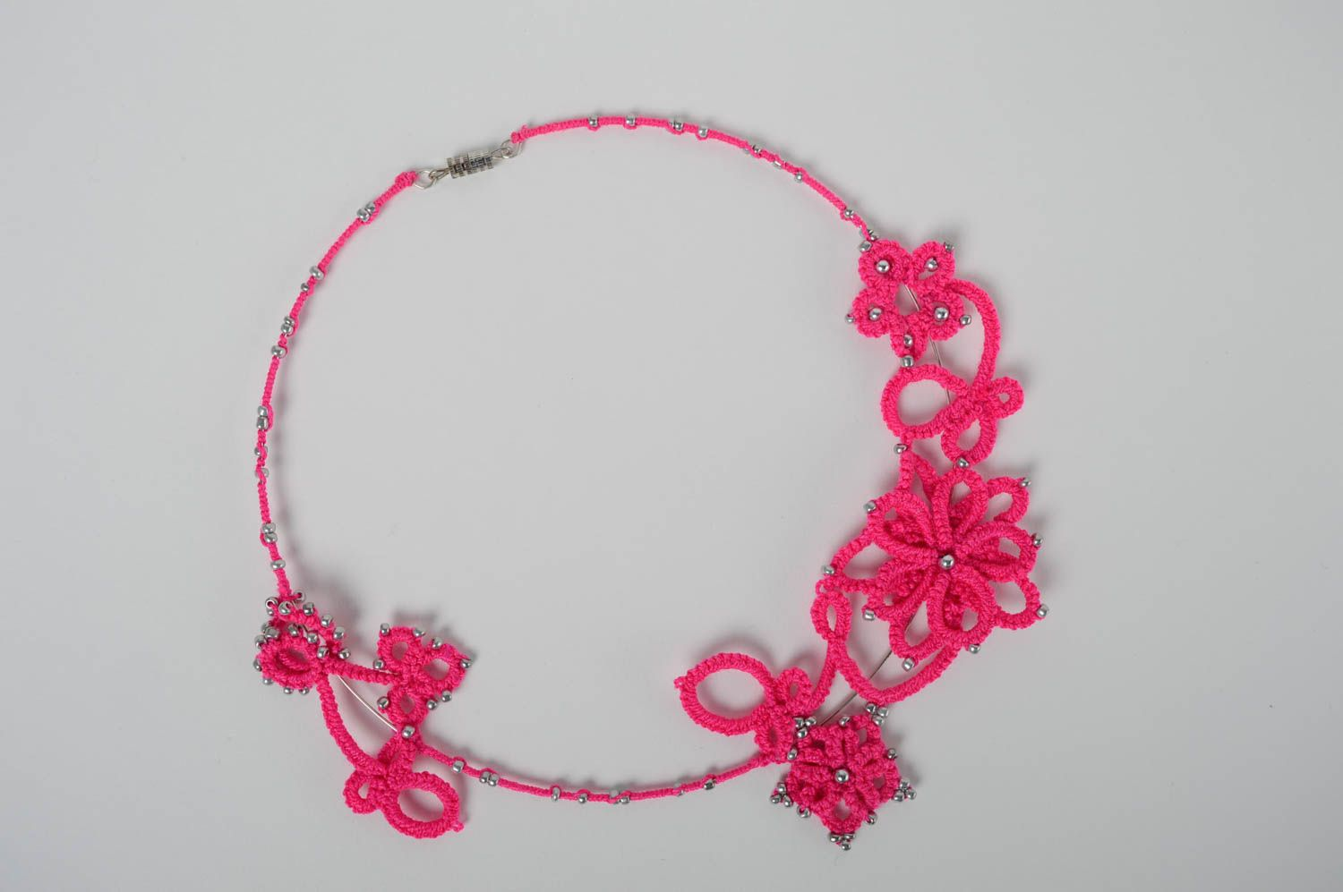 Woven necklace photo 3