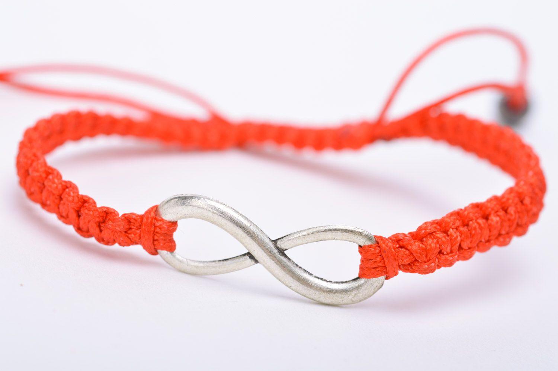 Как сделать браслет из красной нити своими руками 89