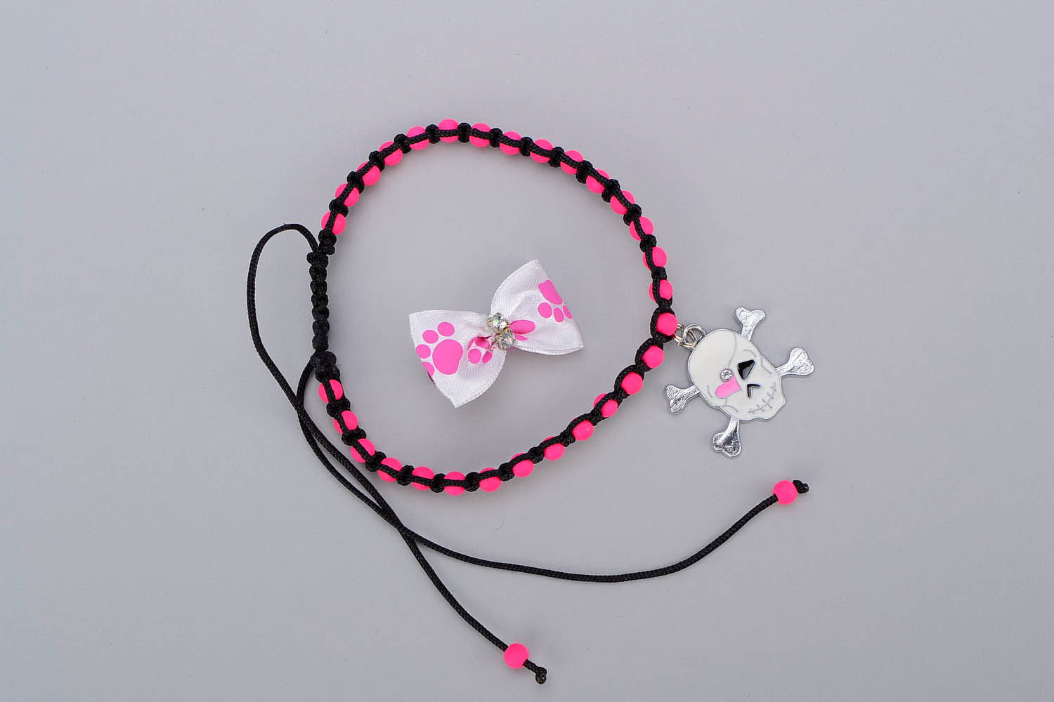 jewelry Set of adornments for dogs