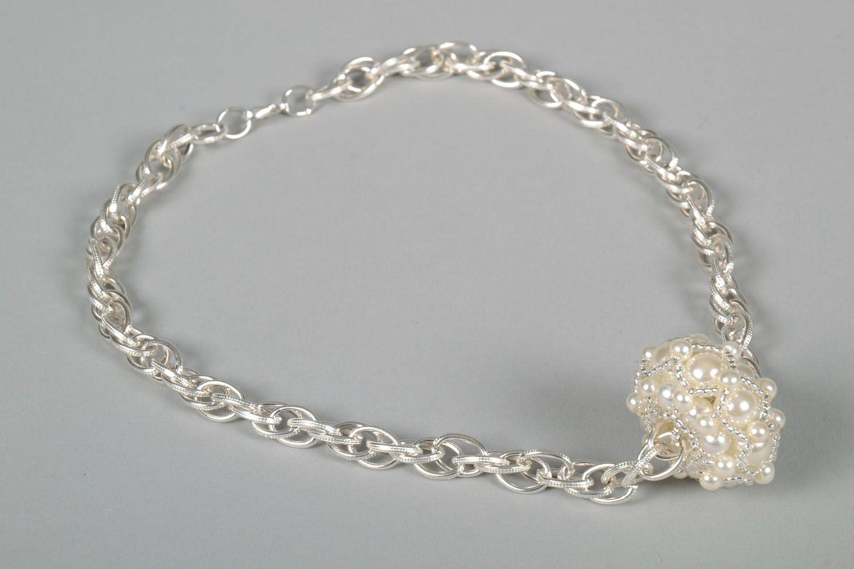 Beautiful beaded pendant photo 4