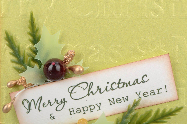 Postcard for Christmas holidays photo 4