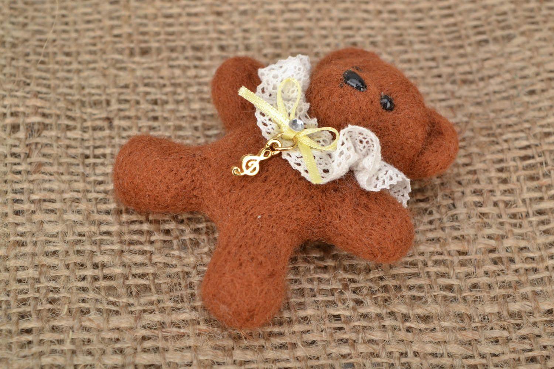 Soft brooch Little Bear photo 1