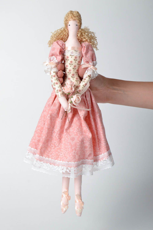 Decorative fabric doll photo 4