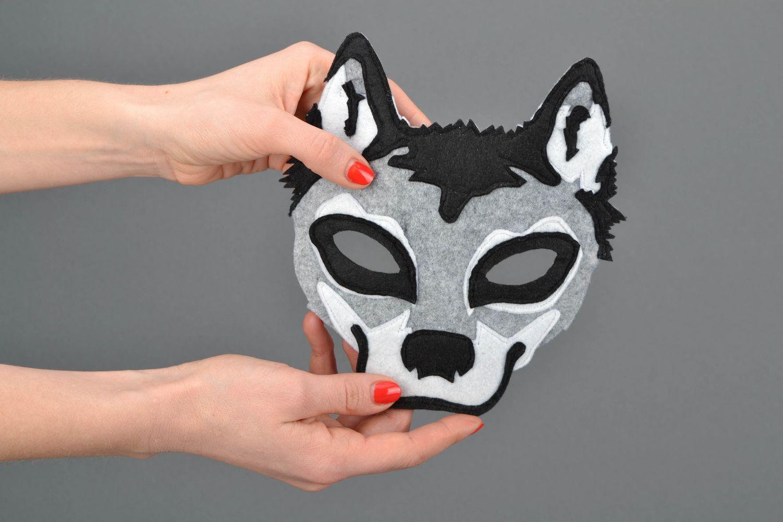 masks Felt mask of wolf - MADEheart.com