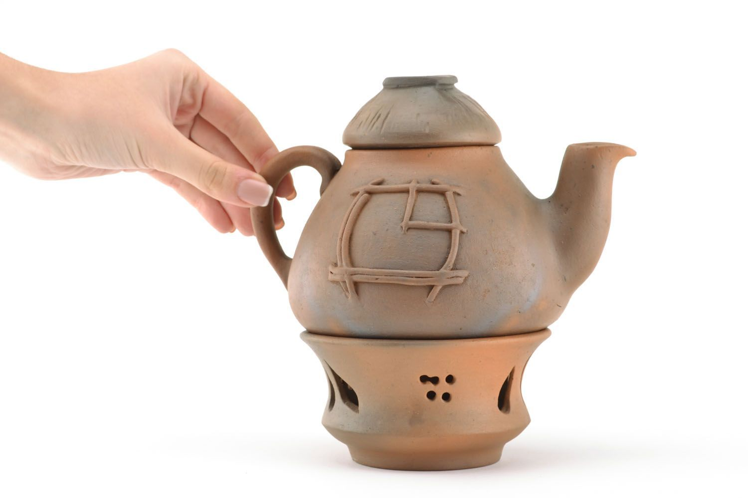 tea pots and coffee pots Teapot with heating - MADEheart.com