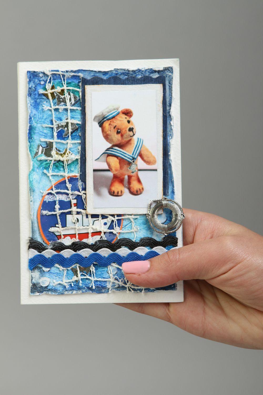 Handmade card paper card unusual card designer card greeting card gift ideas photo 5