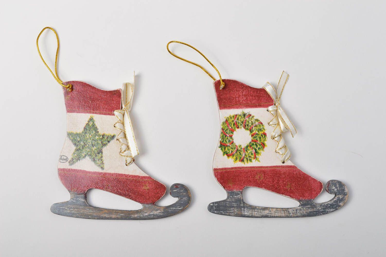 Madeheart adornos navide os hechos a mano colgantes de - Adornos navidenos artesanales ...