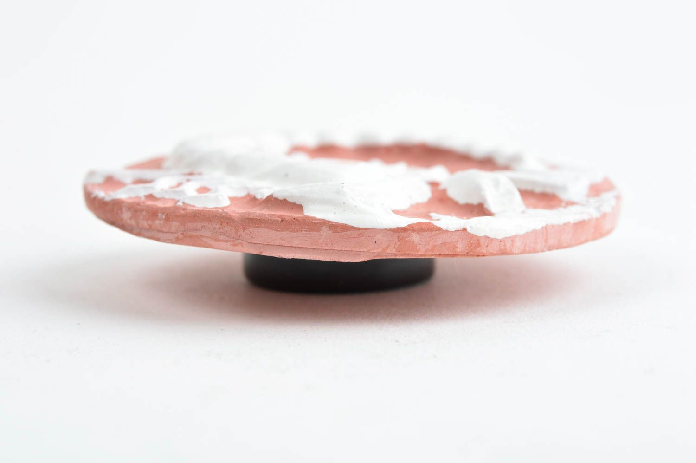 Handmade fridge magnet unusual magnet plaster souvenir decorative use only photo 2
