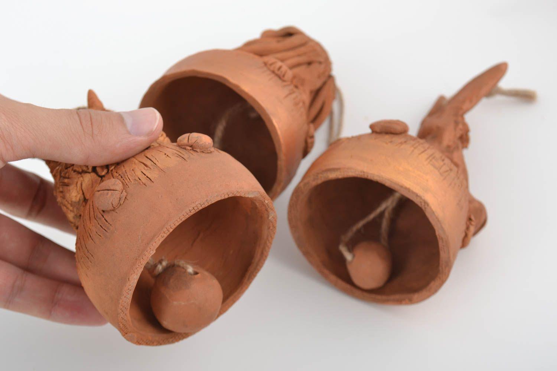 madeheart campanas de cer mica hechas a mano figuras