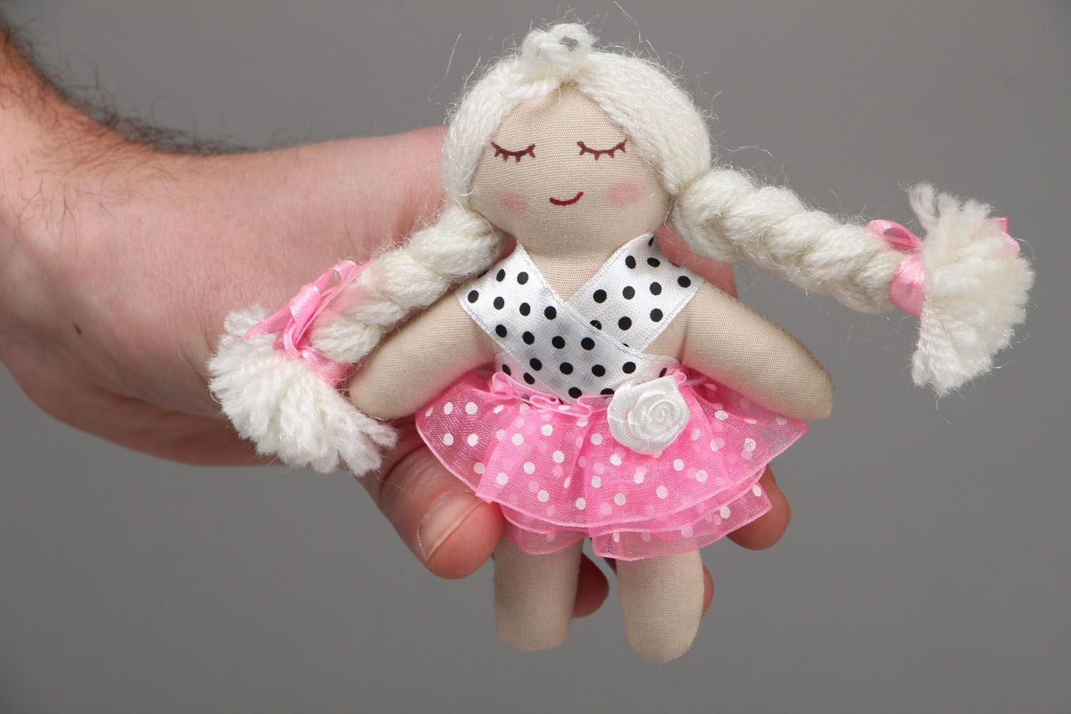 dolls Soft fabric doll - MADEheart.com
