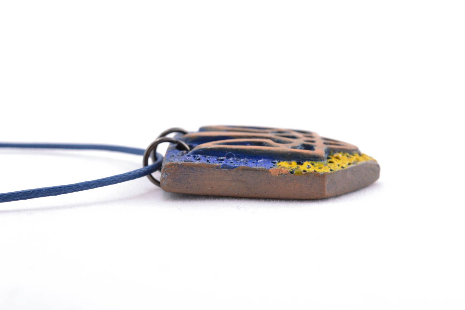 Ceramic pendant with coat of arms photo 2