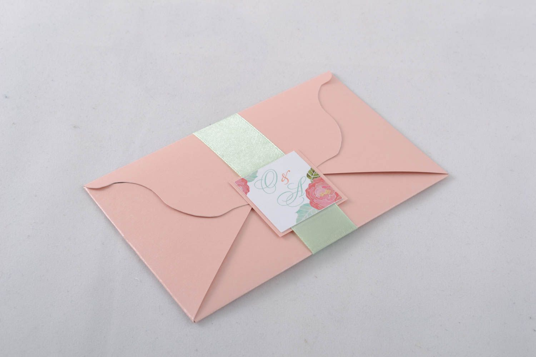 Handmade invitation card photo 2