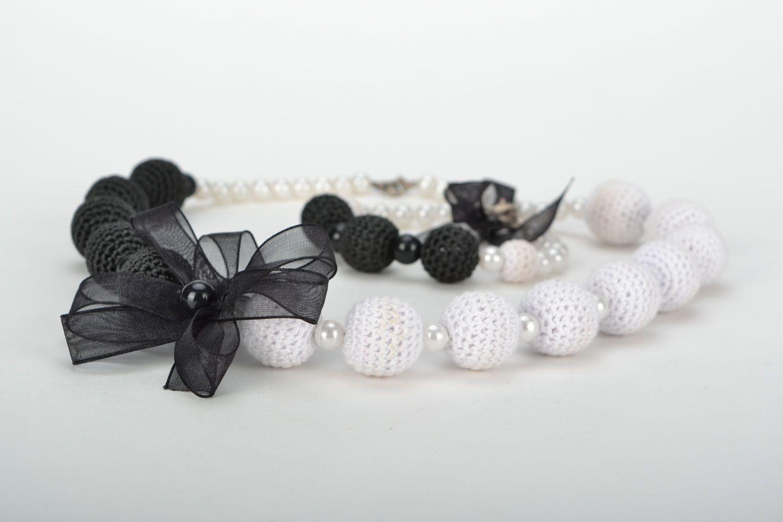 Jewelry set Black and White photo 4