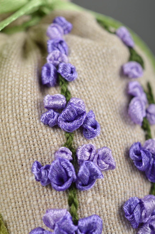 Handmade decor fabric bag for sachet embroidered bag decorative use only photo 3