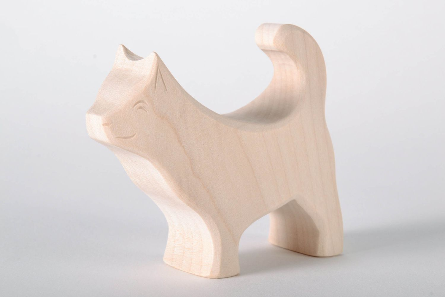 Wooden toy Little Husky photo 2