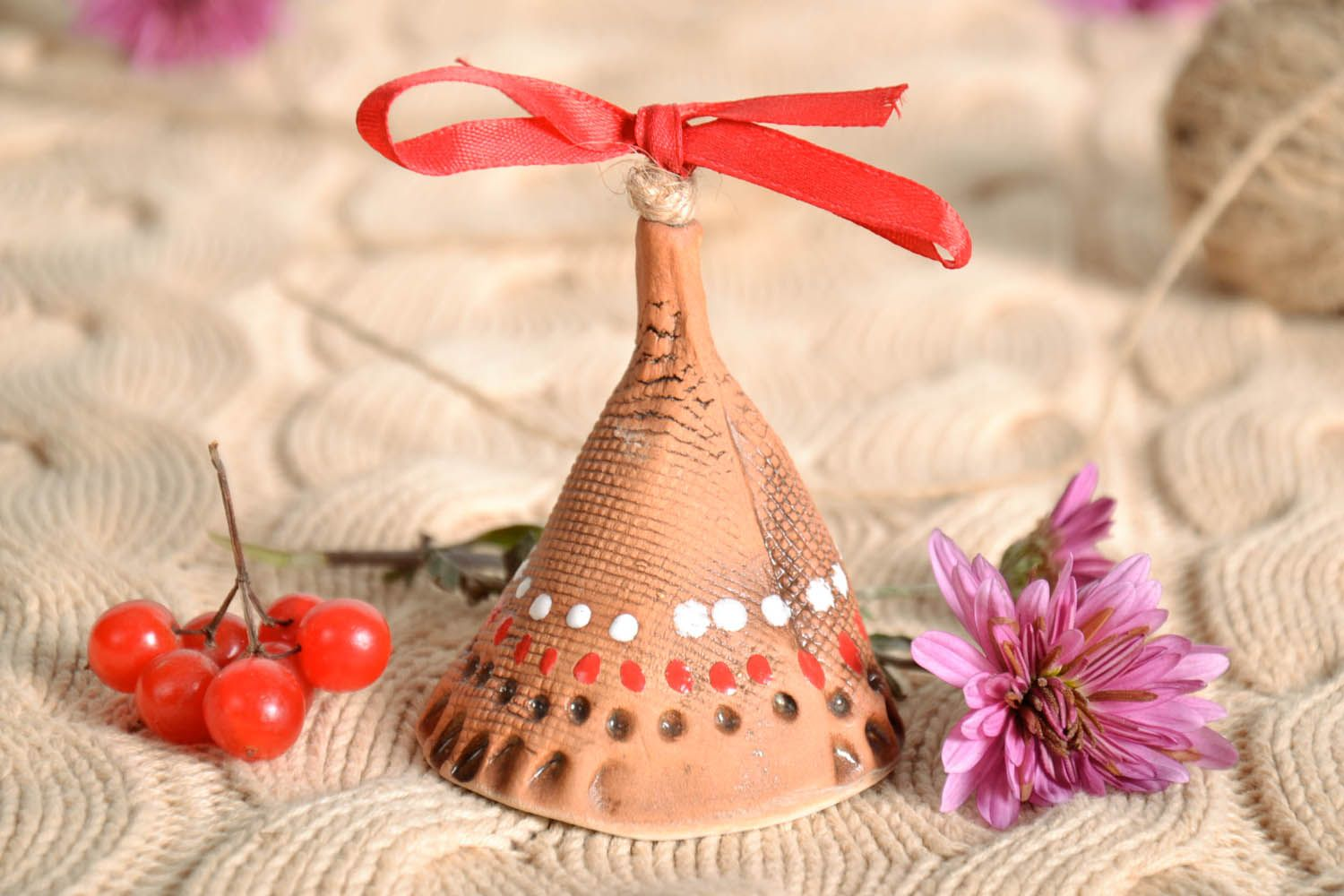 White clay bell  photo 1
