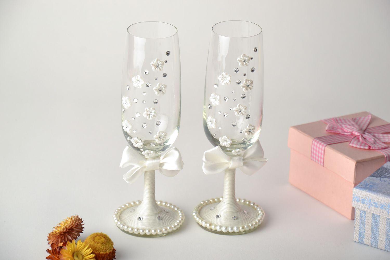 MADEHEART > Handmade wedding glasses