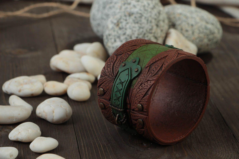 Handmade Damen Armband Ethno Schmuck Designer Accessoire stilvoll modisch schön foto 2