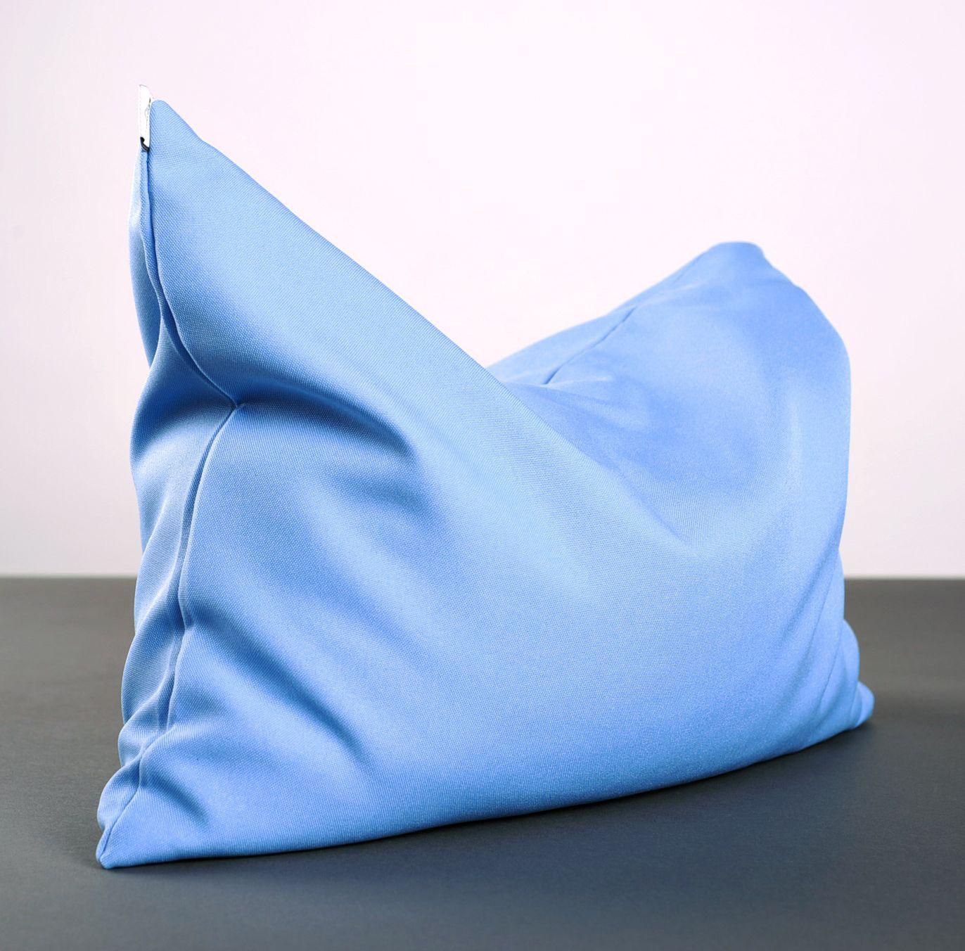 Blue yoga pillow photo 5