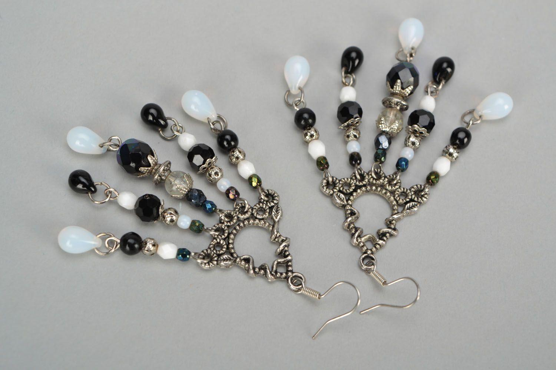 Czech glass earrings photo 5