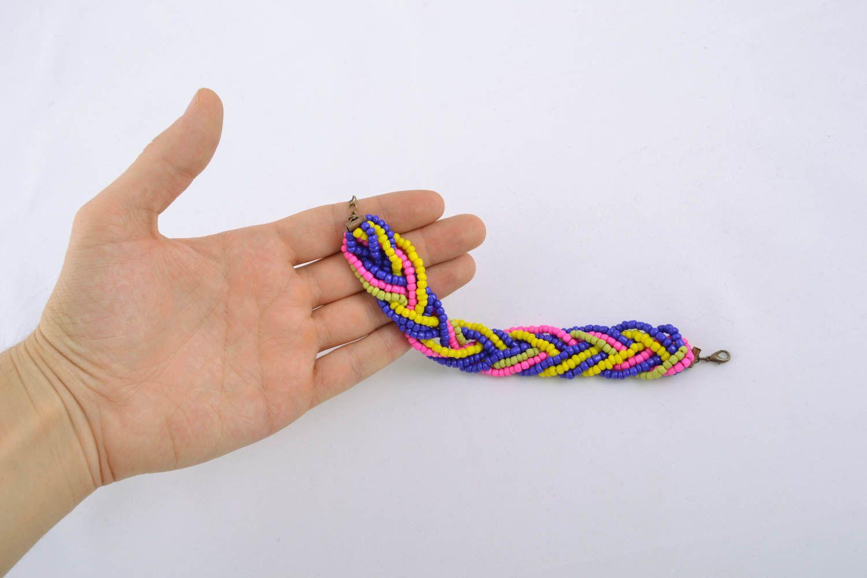 Homemade beaded bracelet photo 4