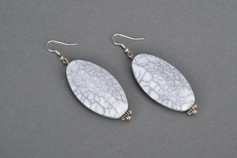 Homemade long earrings photo 3