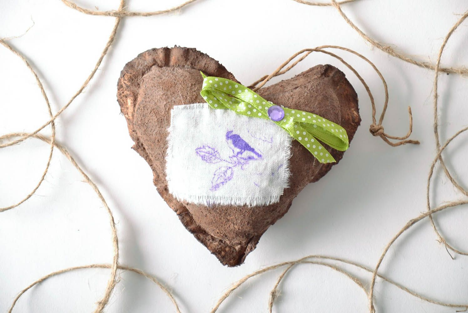 Interior pendant with aroma Chocolate Heart photo 1