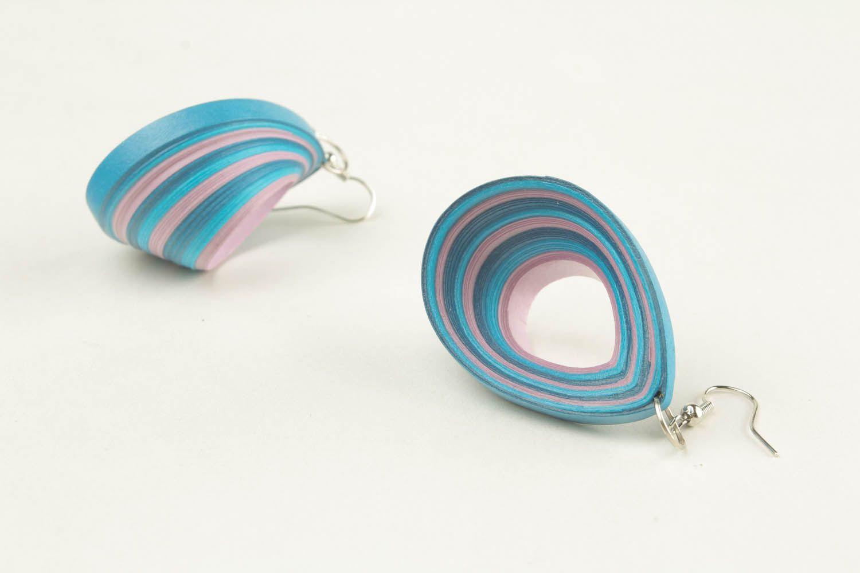 Earrings Sea Wave photo 2
