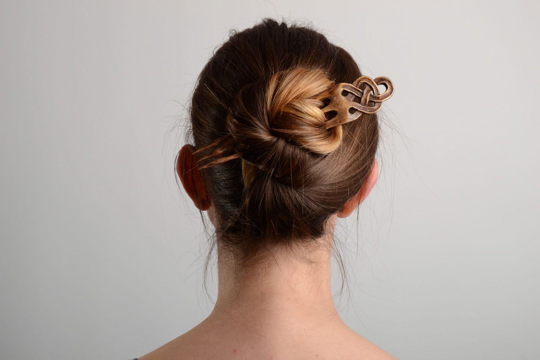 Заколки деревянные для волос