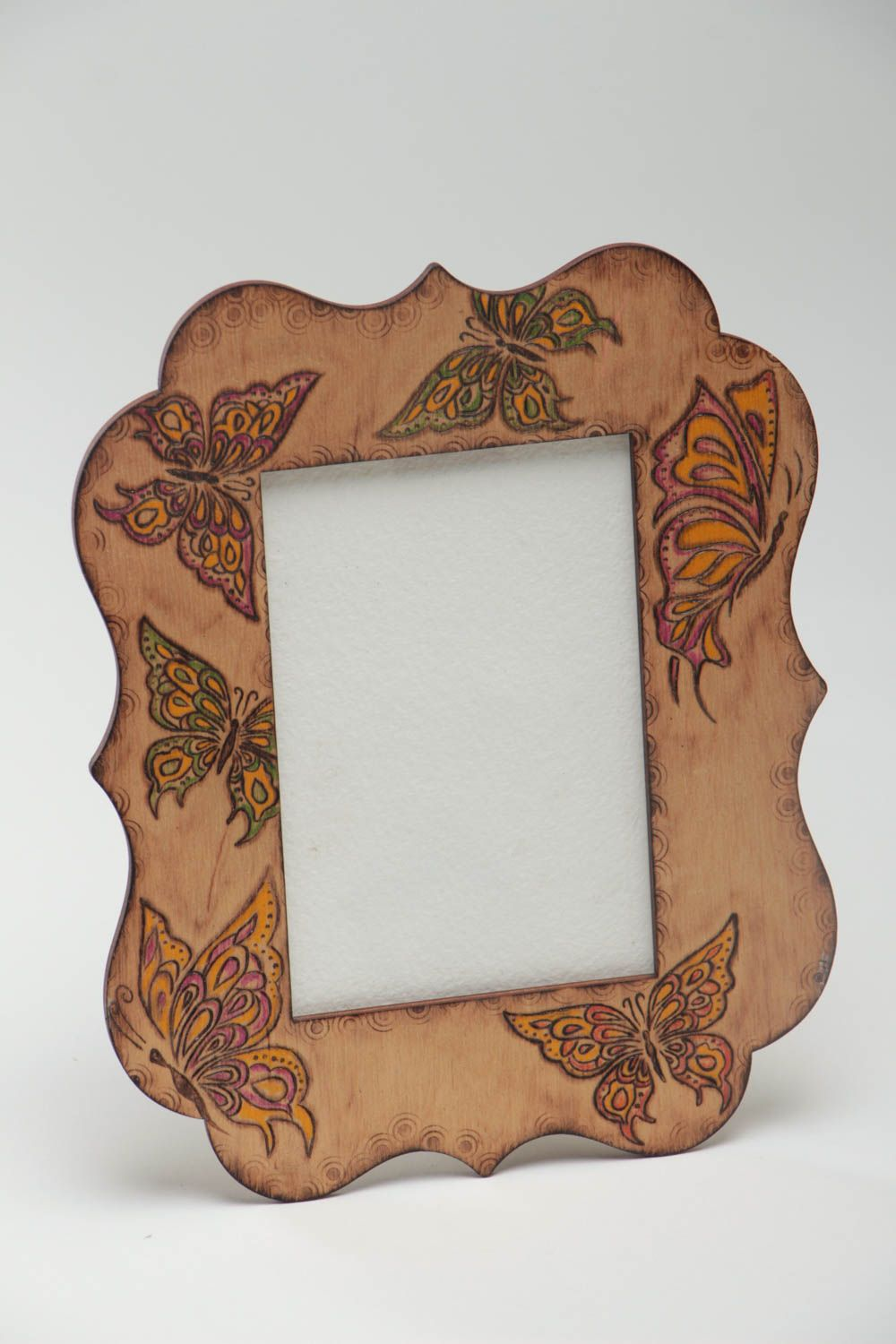 MADEHEART > Wooden photo frame homemade home decor wooden gifts ...
